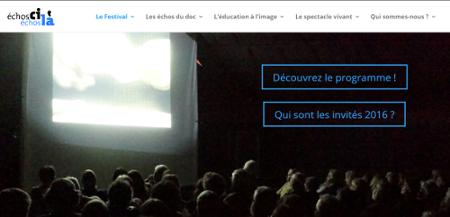 Capture d'écran www.echosdudoc.fr